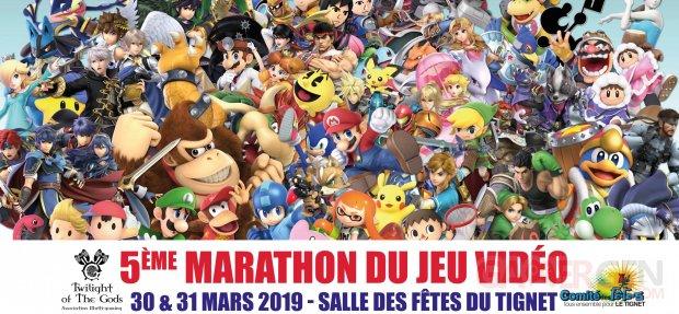 Affiche 5e Marathon du jeu vidéo