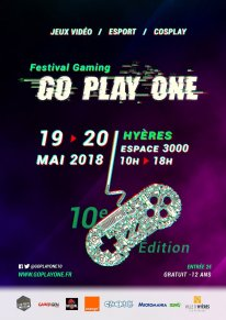 affiche Go Play One 10