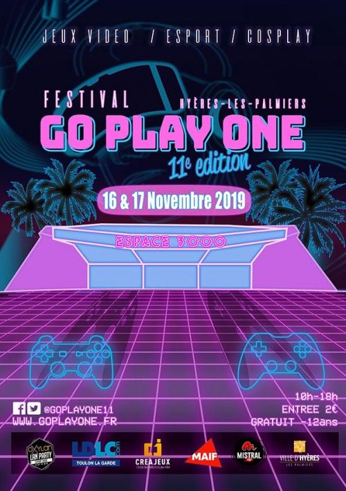 Affiche Go Play One 2019