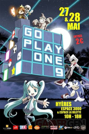 Affiche Go Play One 9 2017