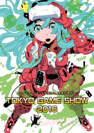 Affiche illustration TGS Tokyo Game Show 2016 images