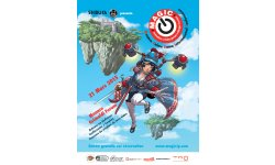 affiche Monaco Anime Game International Conferences MAGIC