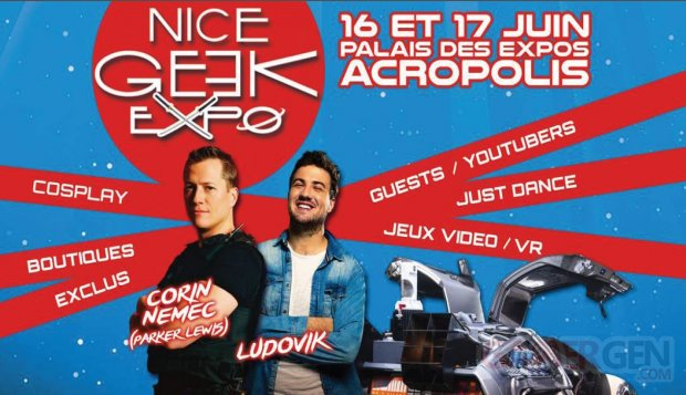 affiche Nice Geek Expo