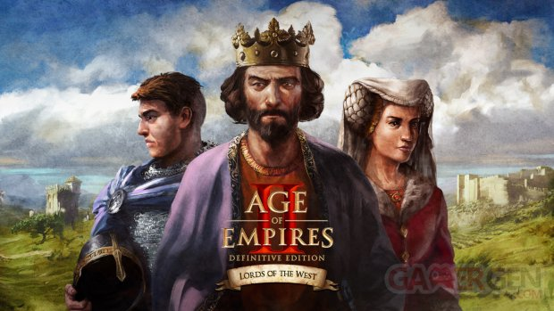 Age of Empires II Definitive Edition Lords of the West key art 2