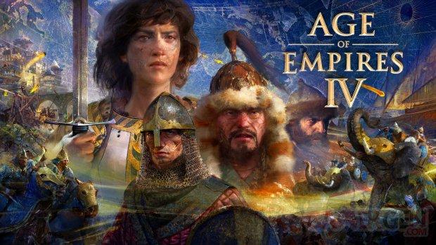 Age of Empires IV wallpaper fond écran key art 2021 HD