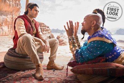 MAJ - CINE - Aladdin: un primer vistazo del genio y Jasmine de la película de acción en vivo