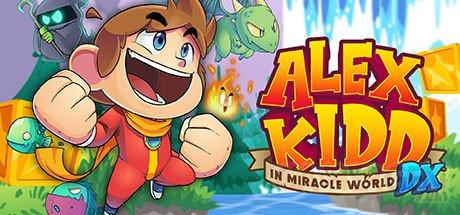 Alex Kidd in Miracle World DX header