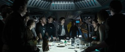 cinema alien covenant une sc ne bourr e de r f rences au huiti me passager d voil e. Black Bedroom Furniture Sets. Home Design Ideas