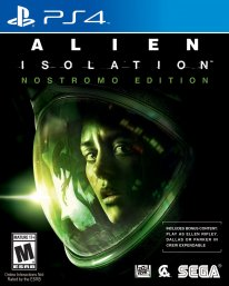 alien isolation jaquette boxart cover ps4