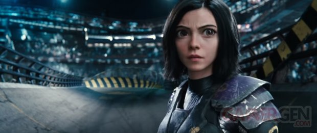 Alita Battle Angel head
