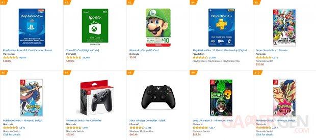 Amazon com Jeux vidéo 2019