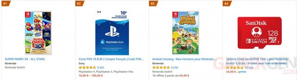Amazon France Vente top imahe