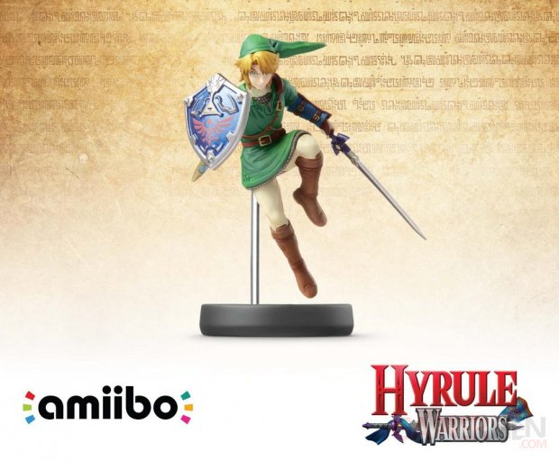 amiibo link hyrule warriors
