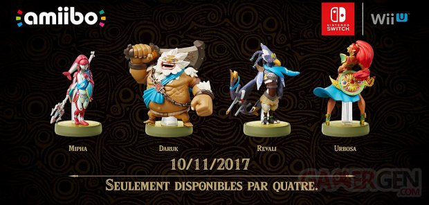 Amiibo the legend of Zelda breath of the Wild figurine images
