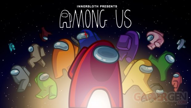 Among Us Logo Head