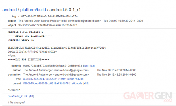 android 5 0 1 aosp