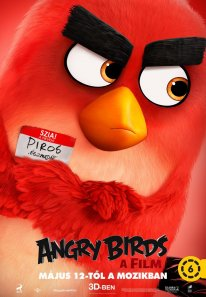 Angry Birds Le Film poster 1