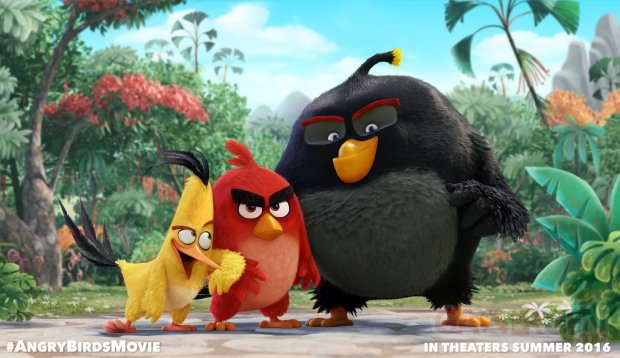 Angry Birds Movie promotional image