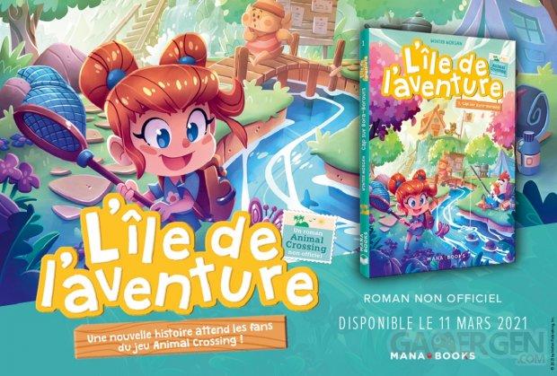 Animal Crossing L ile de l aventure tome 1 Cap sur Bora Borours mana books