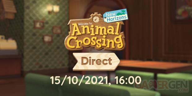 Animal Crossing New Horizons Direct octobre 2021 date