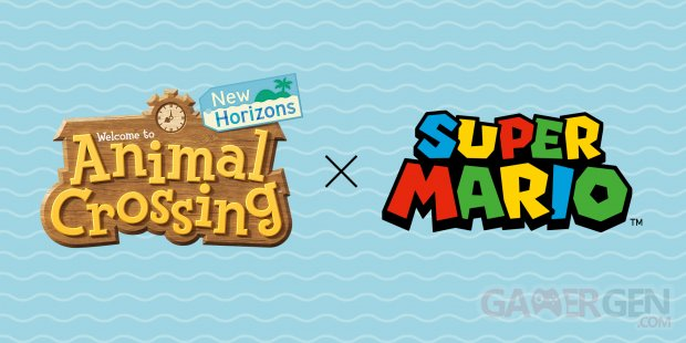 Animal Crossing New Horizons meubles Super Mario