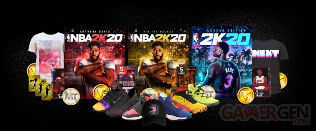 Anthony Davies NBA 2K20 jaquette cover star éditions