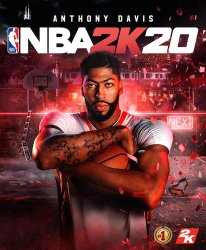 Anthony Davies NBA 2K20 jaquette cover star