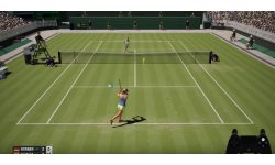 AO International Tennis Gameplay