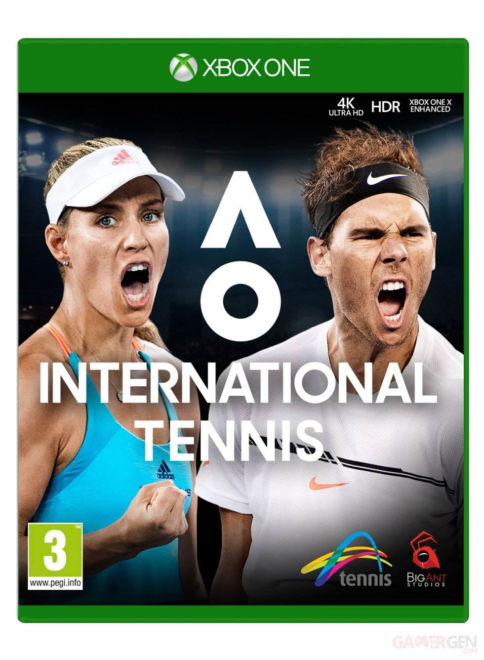 AO International Tennis_XBONE_2D_Packshot_PEGI