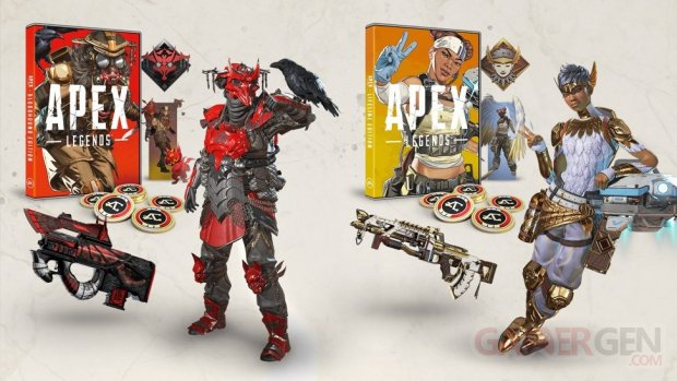 Apex Legends Édition Bloodhound Lifeline pic collector physique