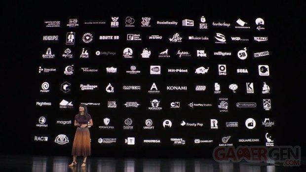 Apple Arcade développeurs