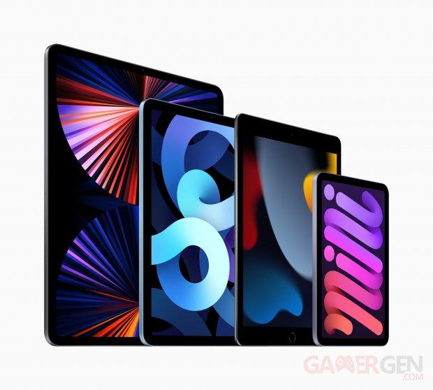 Apple iPad 10 2 inch Family 09142021