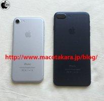 Apple iPhone7 gris noir Plus Pro