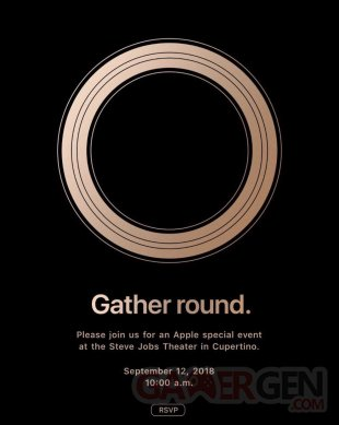 Apple Keynote annonce date image