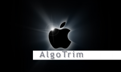 apple logo algotrim