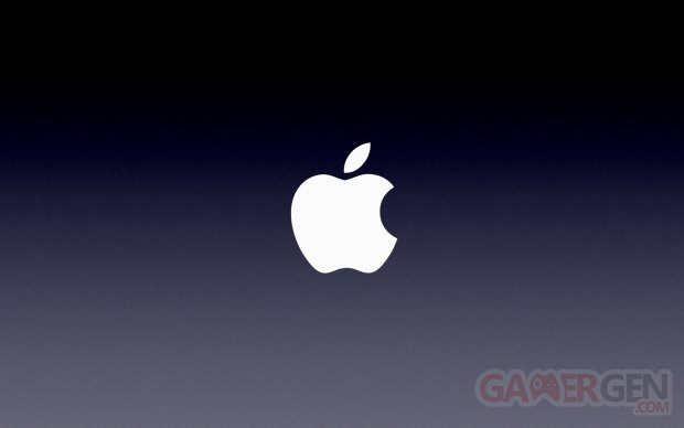 Apple logo keynote