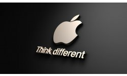 Apple logo think different