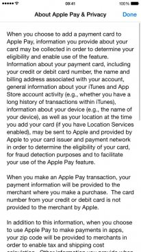 apple pay privacy