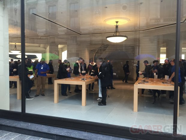 Apple Store Lille inauguration 7