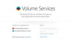 apple volume services 1