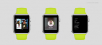 apple watch mockup spotify