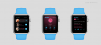 apple watch mockup twitter