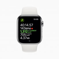 Apple watch series 5 workout outdoor run elevation open goal screen 091019