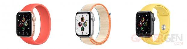 Apple Watch Series 6 et SE images (2)