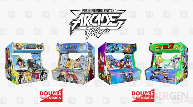 Arcade Mini One Piece Dragon Ball