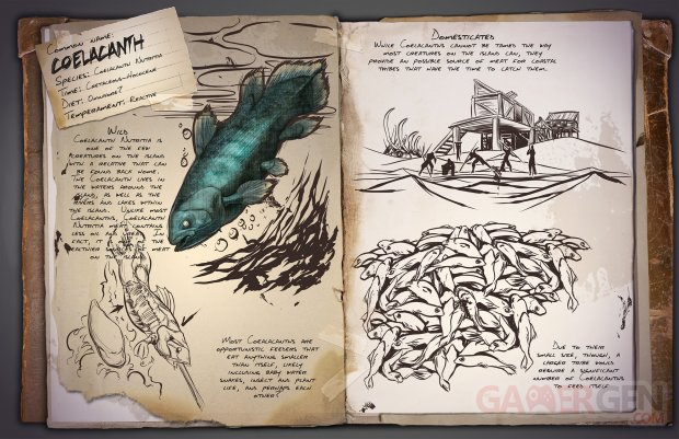 ARK Survival Evolved Coelacanth