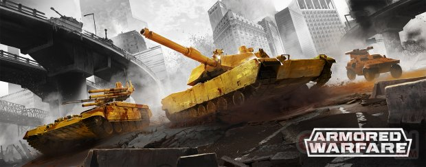 Armored Warfare OpenBeta KeyArt