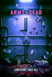 Army of the Dead Netflix Affiche Poster