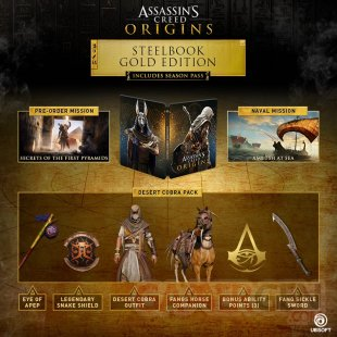 Assassin's Creed Origins : une GODS Collector's Edition ...