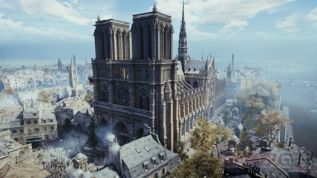 assassin creed unity notre dame
